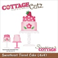 CottageCutz® 4in. x 4in. Universal Thin Die, Sweet Tiered Cake