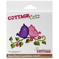 CottageCutz® 4in. x 4in. Universal Thin Die, Sweetheart Lovebirds