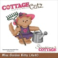 CottageCutz® 4in. x 4in. Universal Thin Die, Miss Garden Kitty