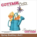 CottageCutz® 4in. x 4in. Universal Thin Die, Spring Duckling
