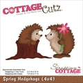 CottageCutz® 4in. x 4in. Universal Thin Die, Spring Hedgehogs