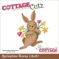 CottageCutz® 4in. x 4in. Universal Thin Die, Springtime Bunny