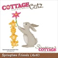 CottageCutz® 4in. x 4in. Universal Thin Die, Springtime Friends