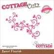 """CottageCutz® Elites 4"""" x 2.8"""" Universal Thin Die, Sweet Flourish"""