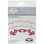 "Elizabeth Craft Designs Pop It Up™ 5 1/4"" x 1 1/4"" Die Set, Agatha Edges"