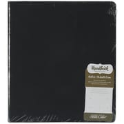 "American Crafts™ 8 3/4"" x 9 3/4"" Handbook Made In A Snap 3-Ring Album, Black"