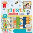 "Diecuts With A View® 12"" x 12"" Paper Stack, Fiesta Forever"