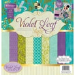 "Diecuts With A View® 12"" x 12"" Paper Stack, Violet Leaf"