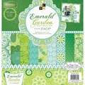 Diecuts With A View® 12in. x 12in. Paper Stack, Emerald Garden