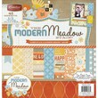 "Diecuts With A View® 12"" x 12"" Paper Stack, Modern Meadow"