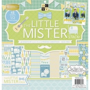"Diecuts With A View® 12"" x 12"" Paper Stack, Little Mister"