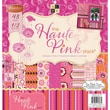 "Diecuts With A View® 12"" x 12"" Paper Stack, Haute Pink"
