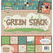 "Diecuts With A View® 12"" x 12"" Paper Stack, Green Stack Two"
