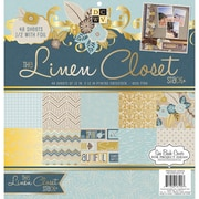 "Diecuts With A View® 12"" x 12"" Paper Stack, Linen Closet"
