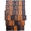 Tim Holtz TH93130 Idea-ology Letterpress, Brown