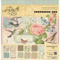 Graphic 45® 12in. x 12in. Double-Sided Paper Pad, Botanical Tea
