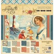 Graphic 45® 12 x 12 Double-Sided Paper Pad, By the Sea