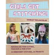 C&T Publishing FunStitch Studio Girls Get Stitching Book