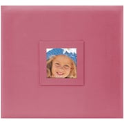 "MBI 12"" x 12"" Postbound Album With Window, Pink"