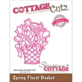 CottageCutz® Elites 3in. x 2.4in. Universal Thin Die, Spring Floral Basket