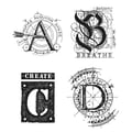 Tim Holtz® Stampers Anonymous 7 in. x 8 1/2in. Cling Rubber Stamp Set, Classics #14