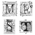 Tim Holtz® Stampers Anonymous 7 in. x 8 1/2in. Cling Rubber Stamp Set, Classics #15
