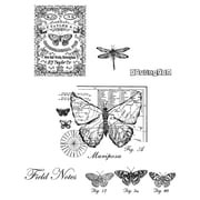 Tim Holtz® Stampers Anonymous 7  x 8 1/2 Cling Rubber Stamp Set, Classics #17