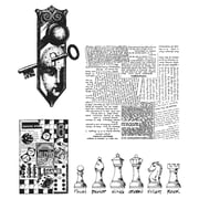 Tim Holtz® Stampers Anonymous 7  x 8 1/2 Cling Rubber Stamp Set, Classics #20