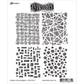 Tim Holtz® Ranger 8 1/2in. x 7in. Dylusions Cling Rubber Stamp Collections, Graphic Backgrounds
