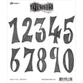 Tim Holtz® Ranger 8 1/2in. x 7in. Dylusions Cling Rubber Stamp Collections, One In Ten