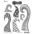 Tim Holtz® Ranger 8 1/2in. x 7in. Dylusions Cling Rubber Stamp Collections, Doodle Delight