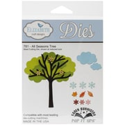 "Elizabeth Craft Designs Pop It Up™ 4 3/8"" x 3 3/8"" Die Set, All Season Tree"
