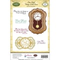 Justrite® Papercraft 5 1/2in. x 8 1/2in. Cling Stamps Set, Time Heals