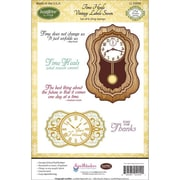"""Justrite® Papercraft 5 1/2"""" x 8 1/2"""" Cling Stamps Set, Time Heals"""
