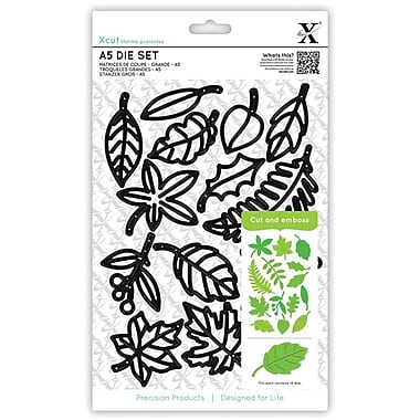 Docrafts™ Xcut A5 Die Set, Leaves