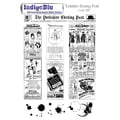 IndigoBlu 9in. x 6 1/2in. Cling Mounted Stamp Set, Yorkshire Evening Post