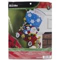 Bucilla® Holiday Drive Stocking Felt Applique Kit, 18in.