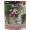 Bucilla® Bowling Santa Stocking Felt Applique Kit, 18in.