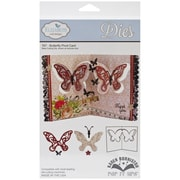 "Elizabeth Craft Designs Pop It Up™ 7 1/2"" x 3"" Die Set, Butterfly Pivot Card"