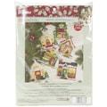 Bucilla® Mary Engelbreit Christmas Ornaments Felt Applique Kit, 5in. x 5in., 6/Pack