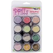USARTQUEST Mini Prills Spring Bling 3 g Bead Accents, 12/Pack