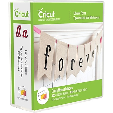 Provo Craft Cricut® Library Font Cartridge