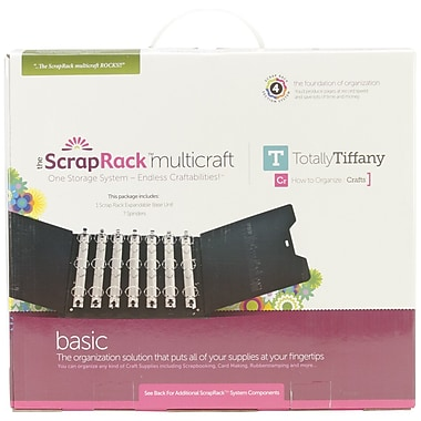 TotallyTiffany™ ScrapRack Multicraft Base Unit, 15