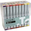Copic® Basic Marker Set, 36 Pieces/Set
