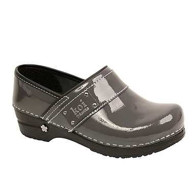 Sanita Footwear Leather Lindsey Clog Steel, 6.5-7