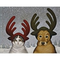 LANG® Boxed Christmas Cards With Envelopes, Squeeky Ashby & Lucy Zirbel