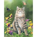 LANG® Boxed Note Cards With Envelopes, Butterfly Dreams