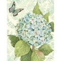 LANG® Boxed Note Cards With Envelopes, Blue Hydrangea