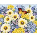 LANG® Boxed Note Cards With Envelopes, Botanical Gardens Blue
