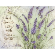 LANG® Boxed Note Cards With Envelopes, Lavender